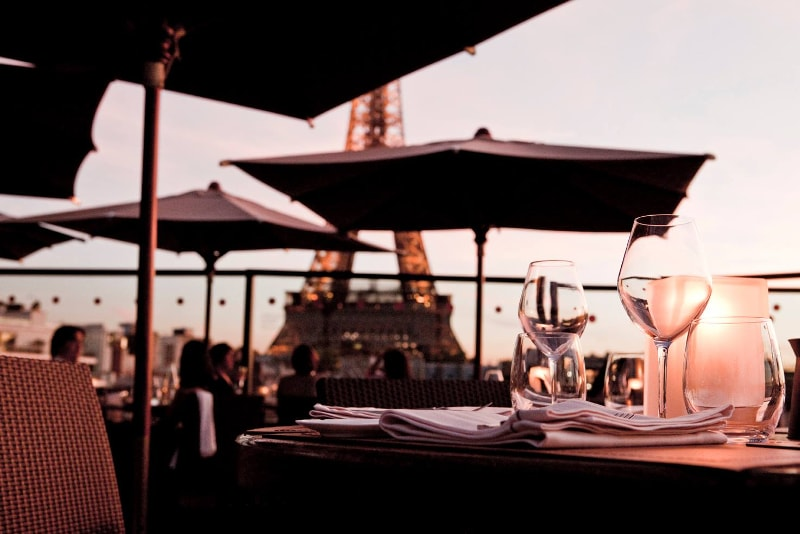 Les Ombres - Paris - Best rooftops bars in the world