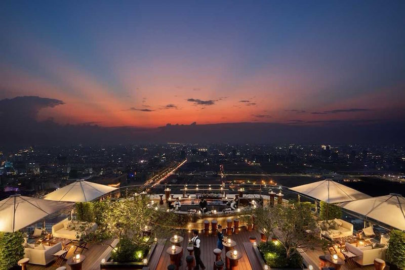 SORA Sky Bar - Phnom Penh - Best rooftops bars in the world