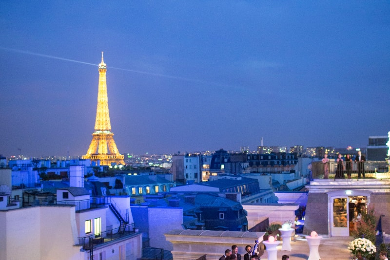 L'Oiseau Blanc at the Peninsula - Paris - Best rooftops bars in the world