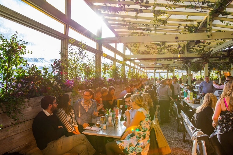 Pergola on the Roof - London - Best rooftops bars in the world