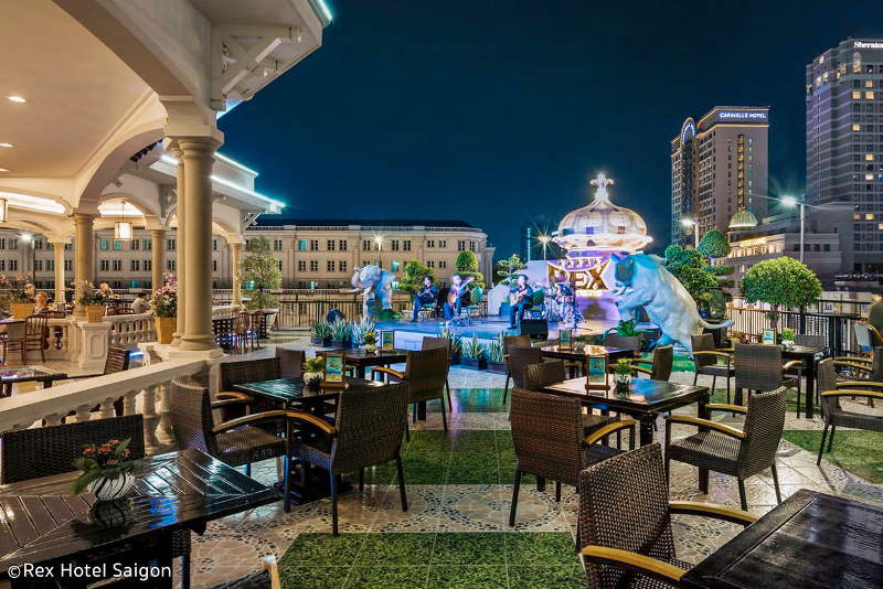 Rex Rooftop Garden - Ho Chi Minh City - Best rooftops bars in the world
