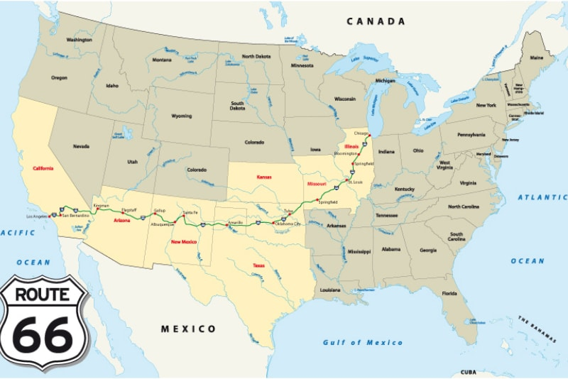 route_66_map - tourscanner