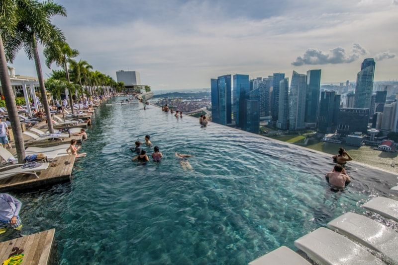 Marina Bay Sands – migliori rooftops