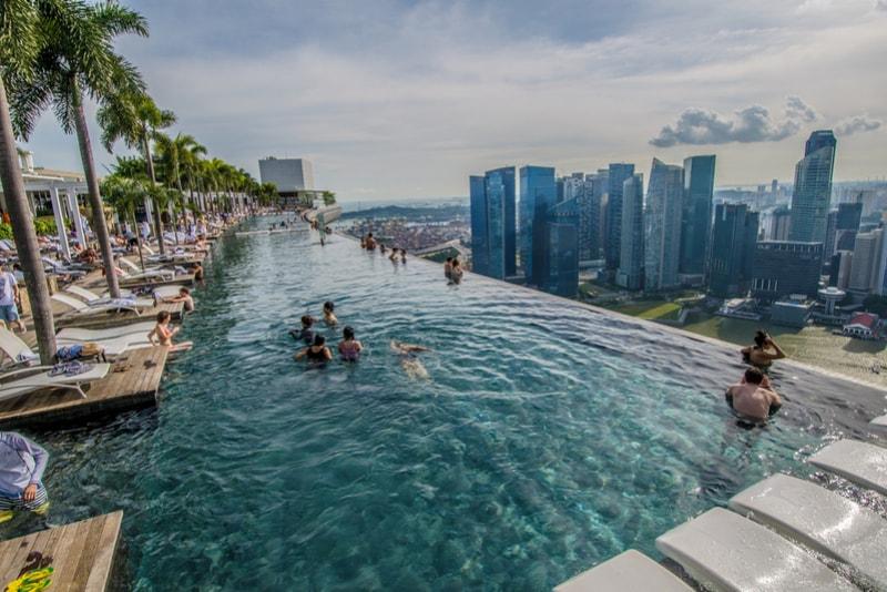 Marina Bay Sands – migliori rooftops