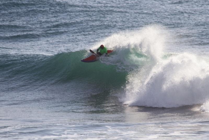 surf en kayak