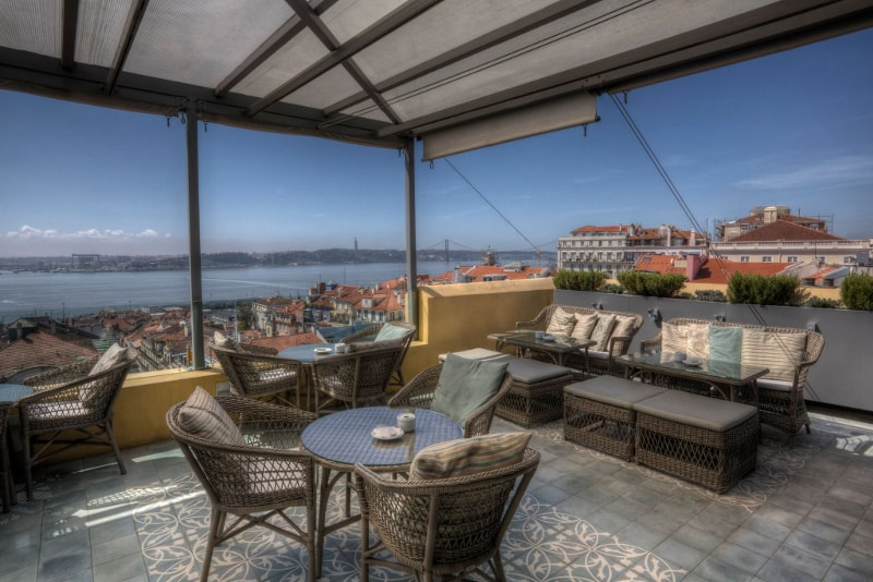Terraco Bairro Alto Hotel - Lisbon - Best rooftops bars in the world