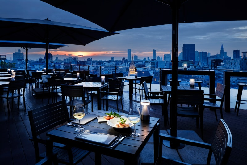 two-rooms-tokyo-migliori rooftop