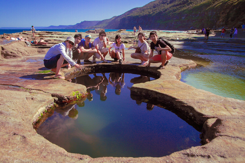 Take a dip at Sydney Royal National Park 8 Pools - Fun things to do in Australia