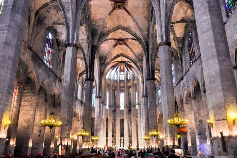 Basilika Santa Maria del Pi, Barcelona