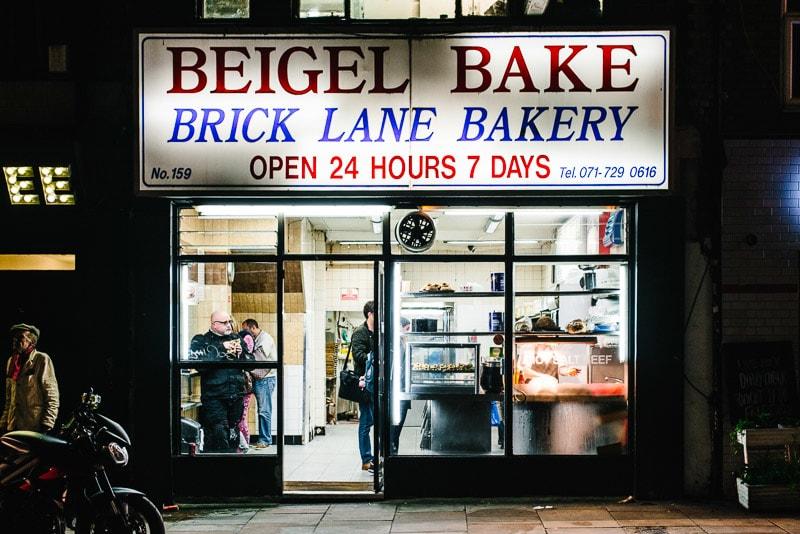 Beigel Bake em Londres - Coisas divertidas para fazer em Londres