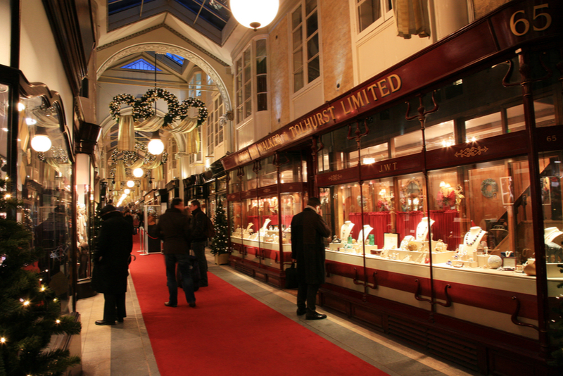 Burlington Arcade - Coisas para fazer em Londres
