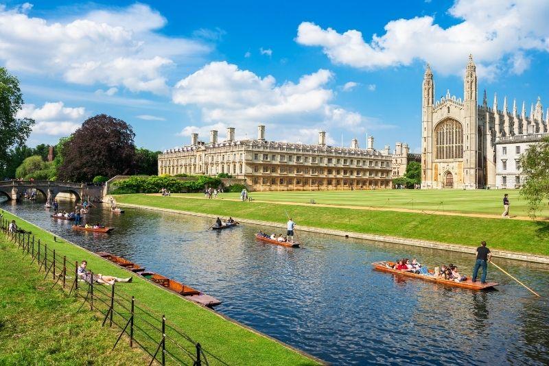 Cambridge tour from London