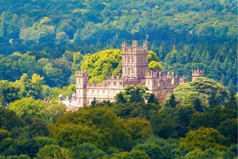 Downton Abbey locations tour