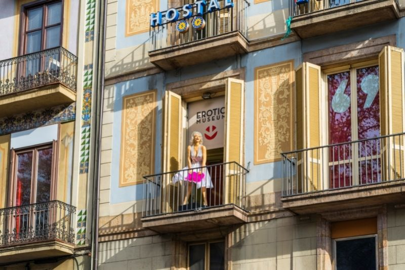 Erotisches Museum, Barcelona