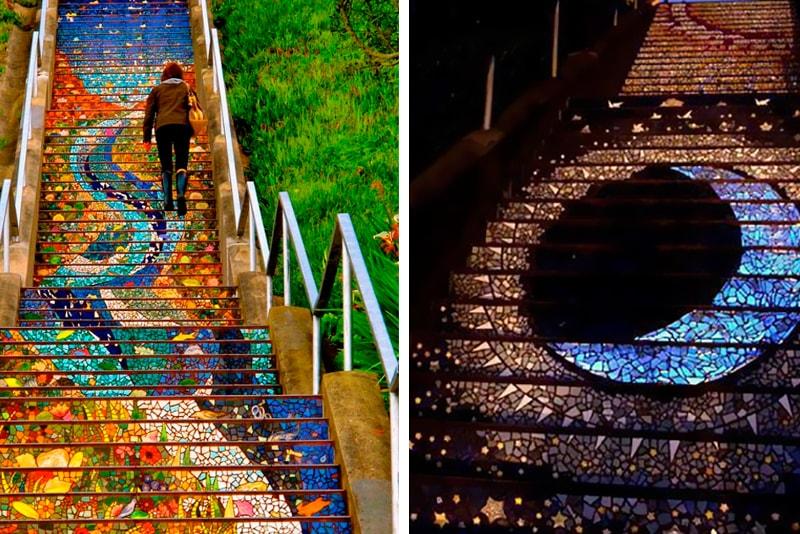 Escaliers San Francisco - Choses Cool à Faire à San Francisco