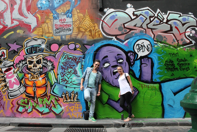 Melbourne Graffiti Alley - Fun things to do in Australia