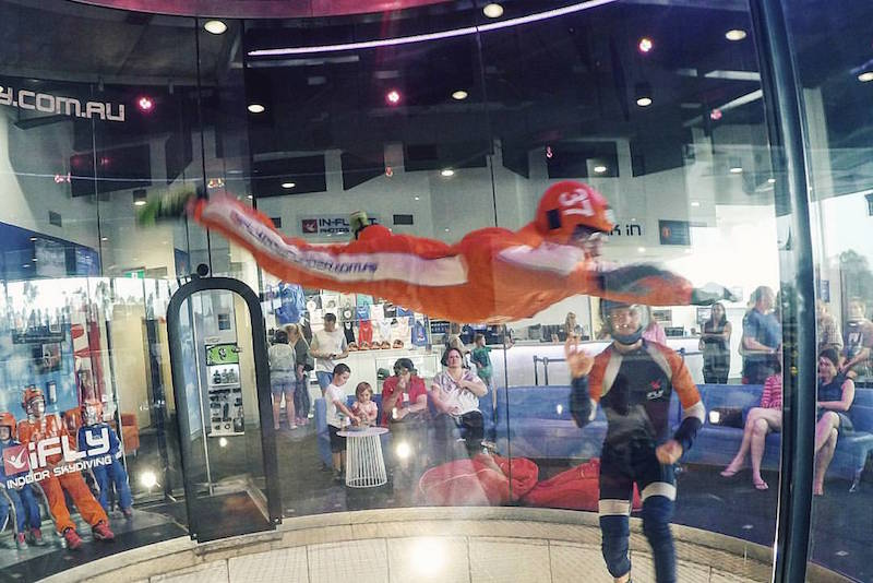 indoor skydiving - Fun things to do in Australia