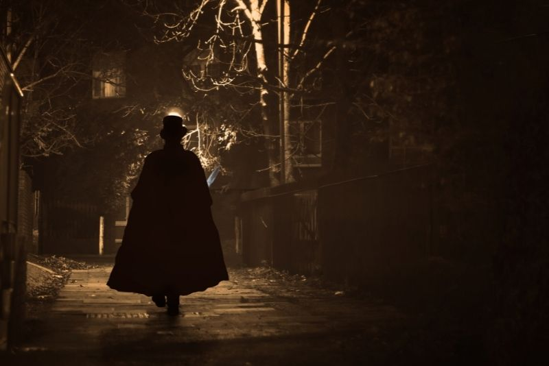 Jack the Ripper tour in London