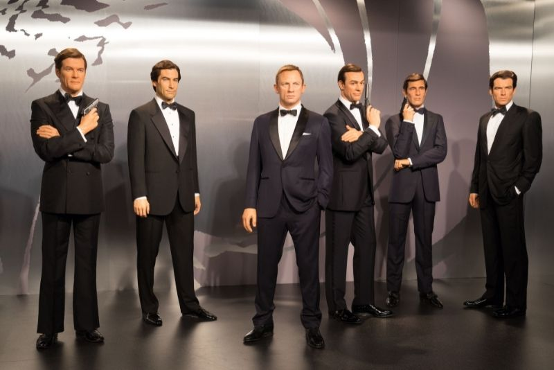 James Bond tour in London
