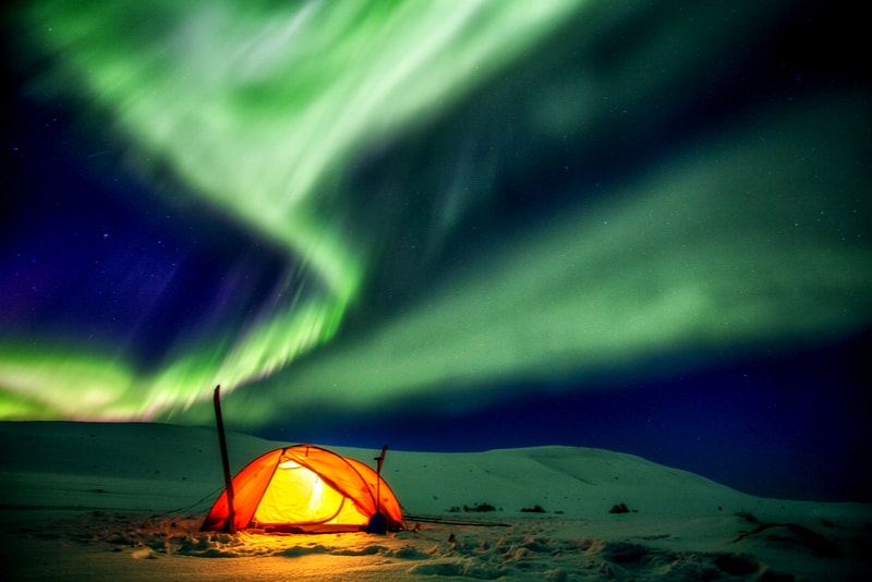 Kungsleden Aurora - 14 Amazing Hiking Trails you Probably didn't Know About