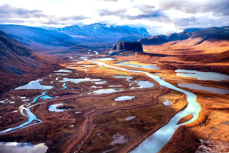 Kungsleden view - 14 Amazing Hiking Trails you Probably didn't Know About