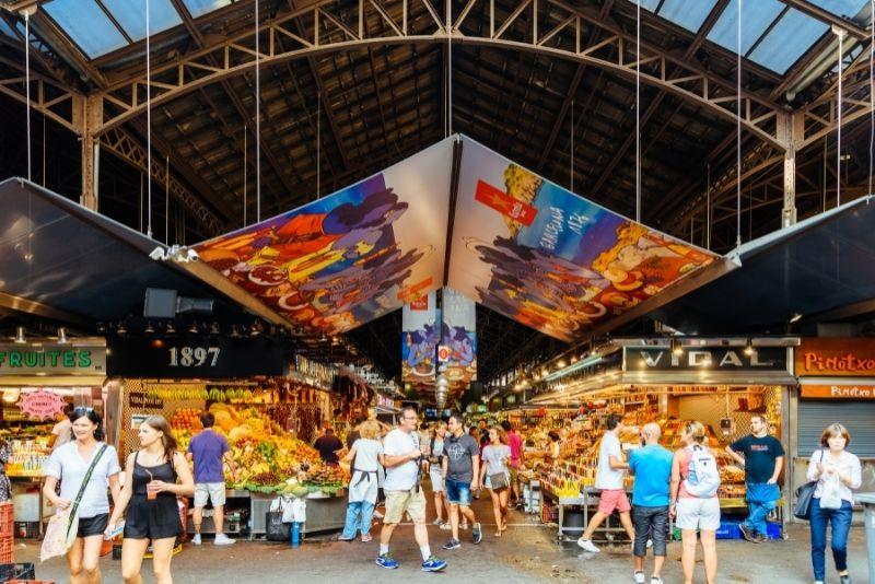 Markt La Boqueria, Barcelona