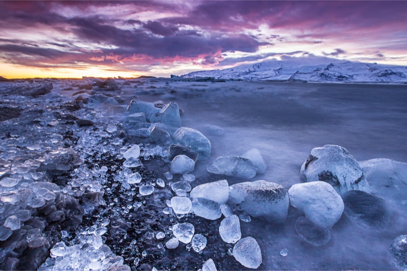 Lake in Landmannalaugar - Hiking Trails