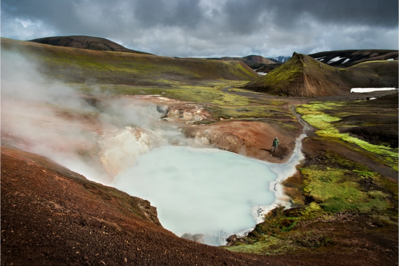 Landmannalaugar Lake - Hiking Trails