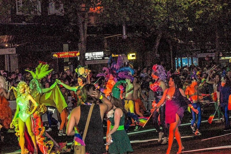 Mardi Gras Is a festival - Fun things to do in Australia