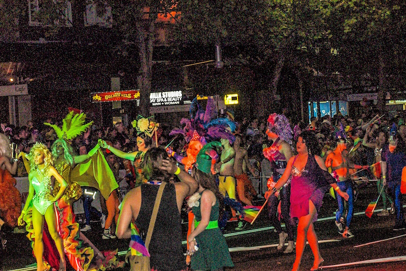 Mardi Gras Is a festival - Fun things to do in Australia