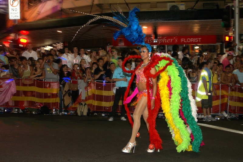 Disguise yourself for Mardi Gras in Sydney - Fun things to do in Australia