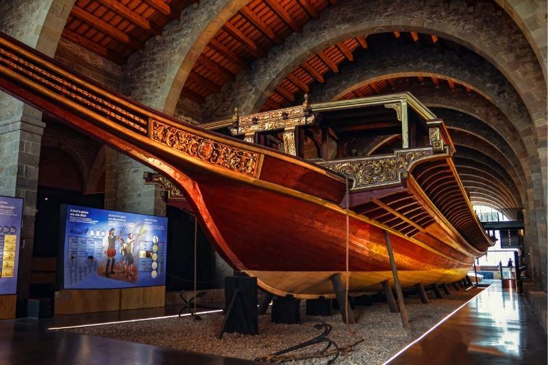 Schifffahrtsmuseum, Barcelona