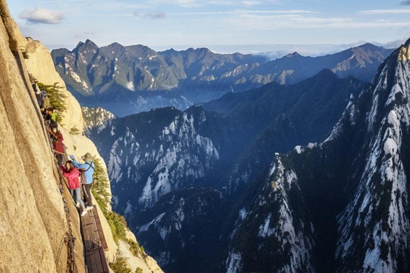 Mont Huashan - 14 Treks Sensationnels dont vous n'avez Sûrement Jamais Entendu Parler