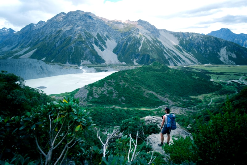 Mount Cook NZ - Hiking Trails