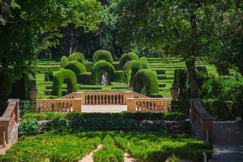 Horta Labyrinthpark, Barcelona