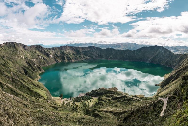 Quilotoa Loop cratère - 14 Treks Sensationnels dont vous n'avez Sûrement Jamais Entendu Parler