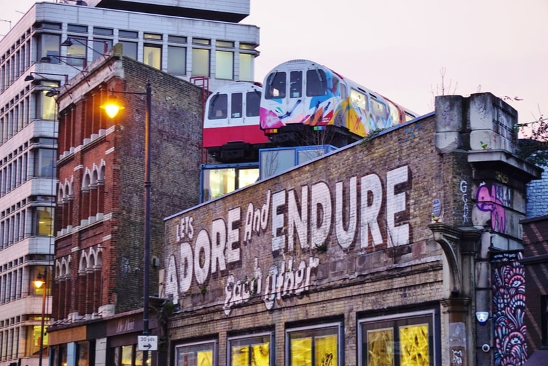 Shoreditch à Londres - 18 Choses Originales à Faire à Londres en 2019