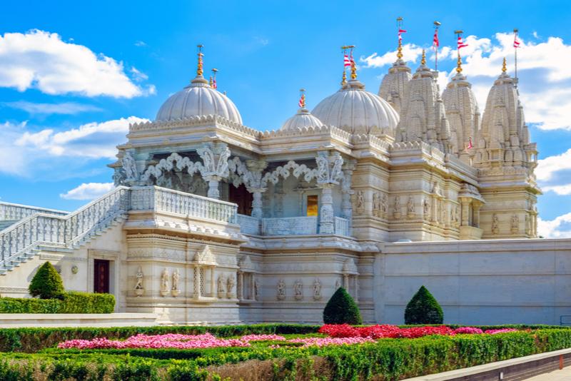 Shri Swaminarayan Mandir em Londres - Coisas para fazer em Londres