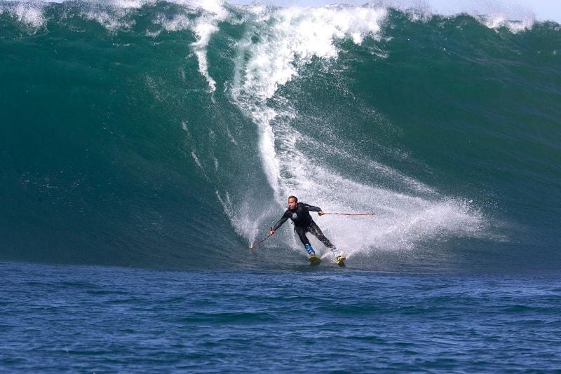 surf skiing