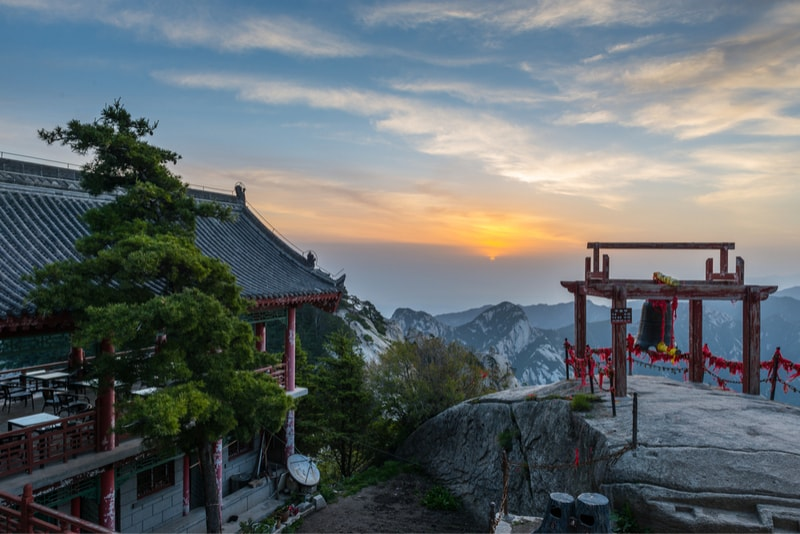 Tempio Monte Huashan - Escursioni