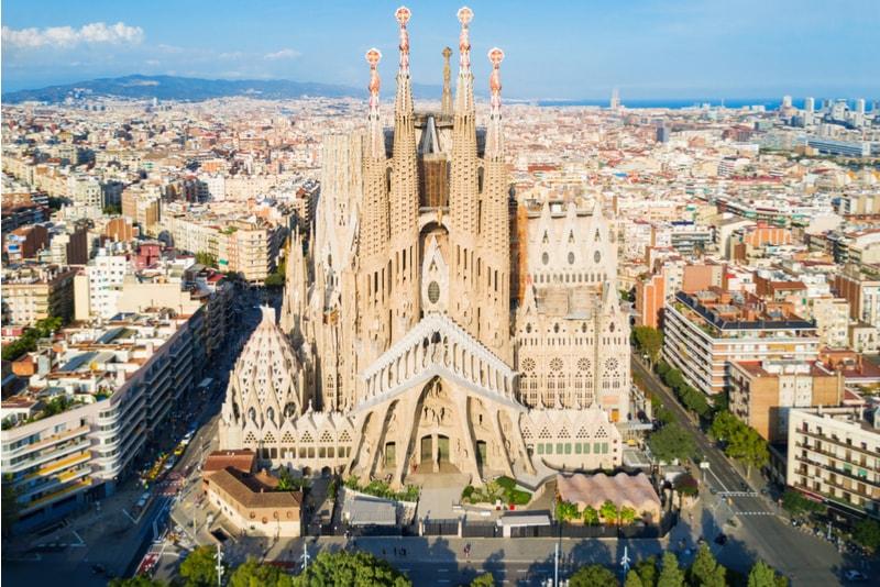 Sagrada Familia - Coisas para fazer em Barcelona