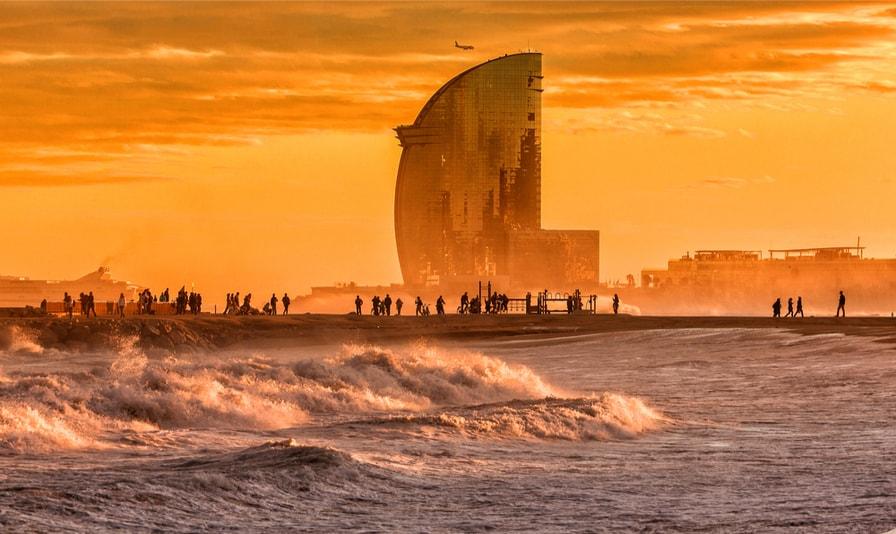 Praia de Barceloneta - Coisas para fazer em Barcelona