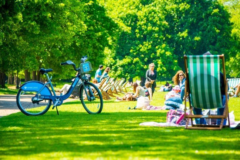 bike tour in London
