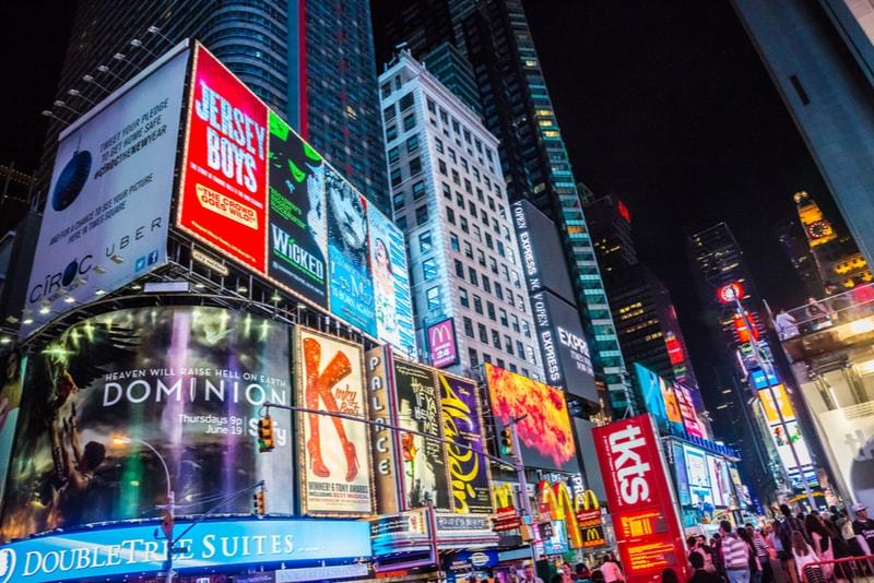 Broadway - Coisas para fazer em Nova Iorque