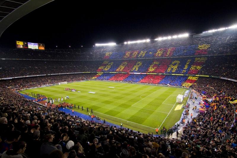 Camp Nou - Stadi di Calcio da Visitare