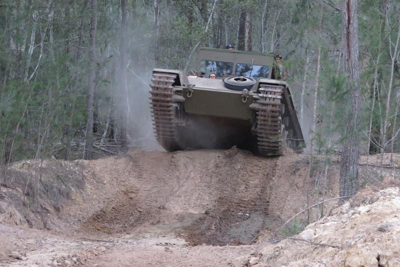 Ride a Vietnam Tank - Fun things to do in Australia