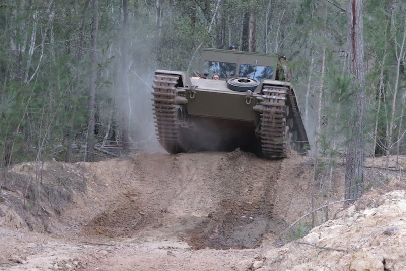 Ride a Vietnam Tank - Fun things to do in Australia