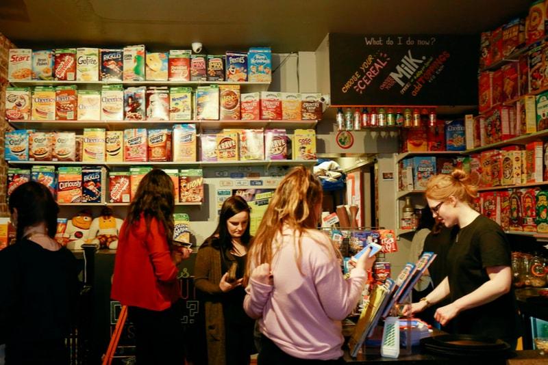 Cereal Killer Cafe - Coisas para fazer em Londres