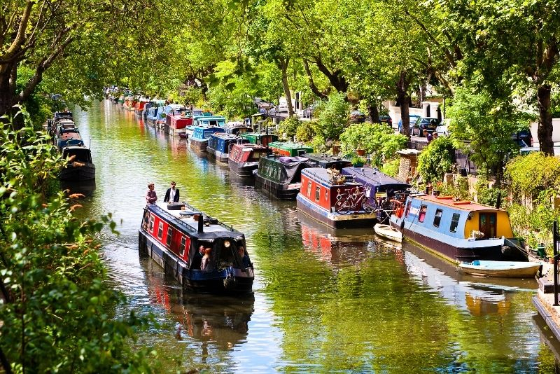 cruise down Regent's Canal