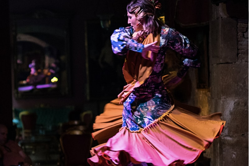 Flamenco in Palau Dalmases - things to do in Barcelona